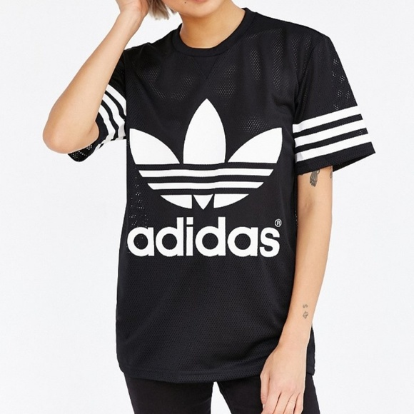 Adidas Womens Mesh Jersey Shirt